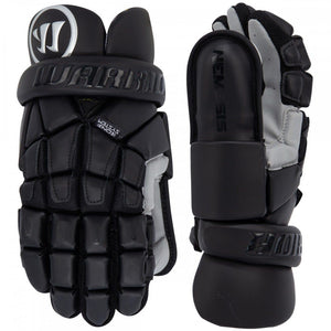 "Warrior Nemasis Goalie Gloves Small 10"" Black"
