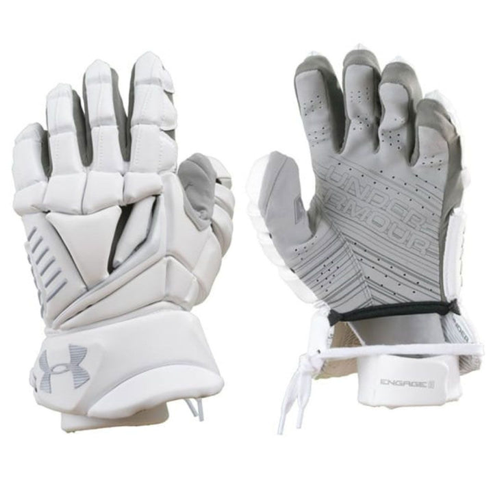 "Under Armour Engage II Glove 13"" Large White"