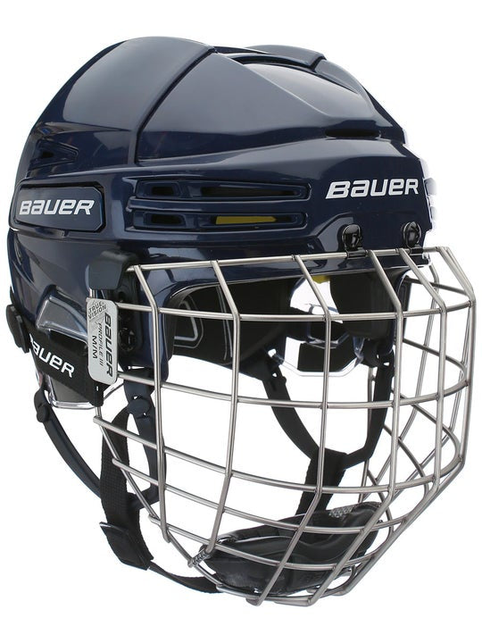 Bauer RE AKT 75 Helmet Combo Navy