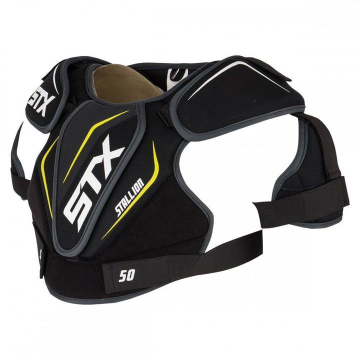 STX Stallion 50 Shoulder Pad Black