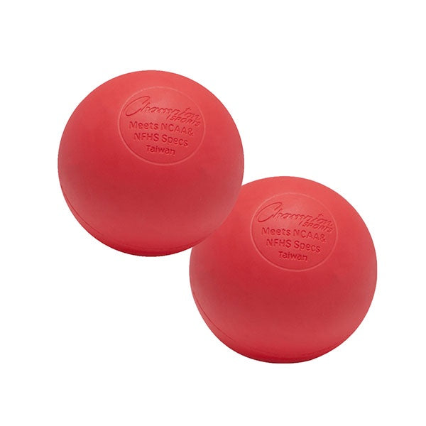 Champion NOCSAE Ball Red 6 Pack