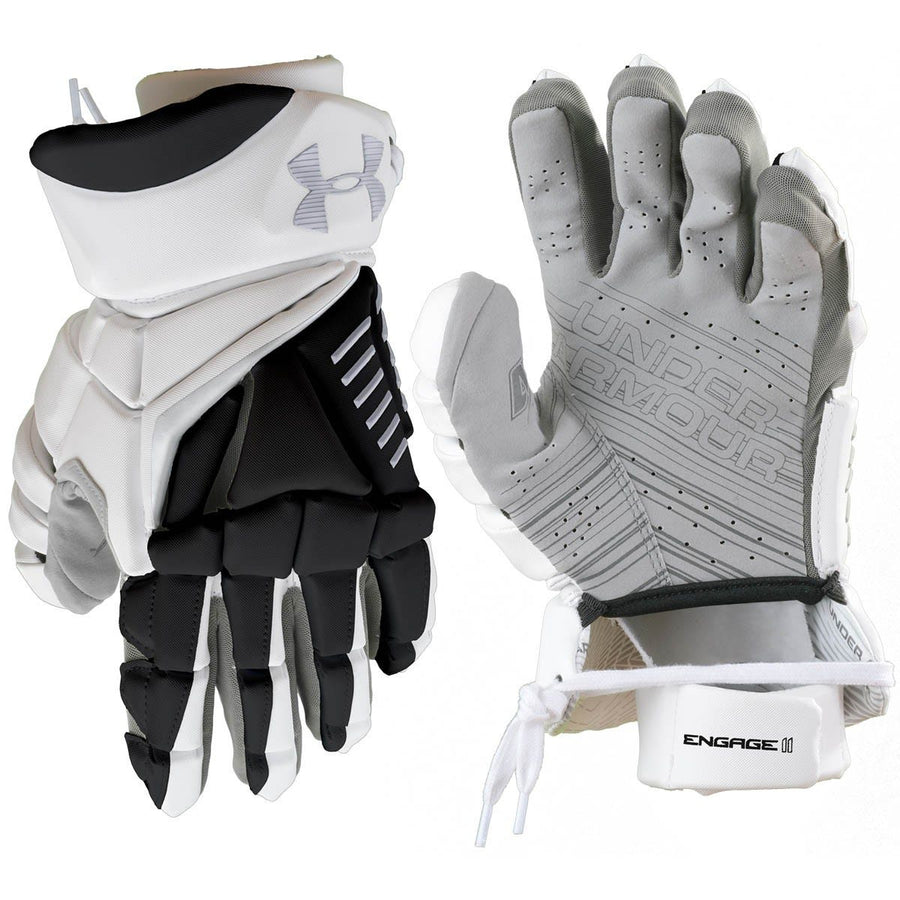 "Under Armour Engage II Glove 13"" Large Black/White"
