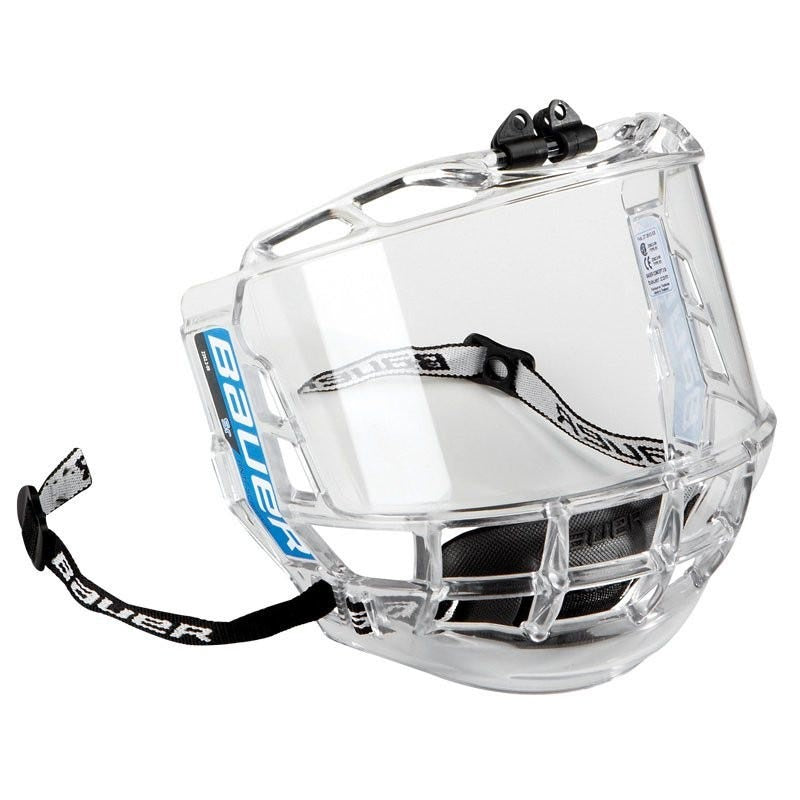Bauer Concept 3 Full Facial Protector Clear