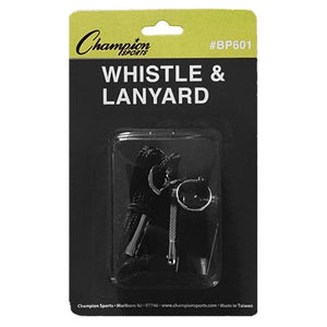 Champion Whistle and Lanyard