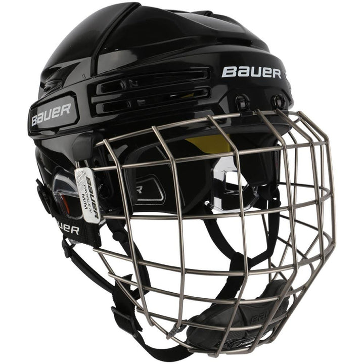 Bauer RE AKT 75 Helmet Combo Black