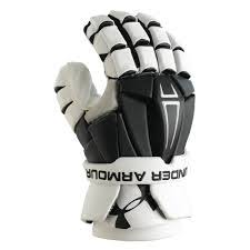 "Under Armour Command Pro 13"" Goalie Blk/White"