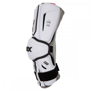 STX Stallion 500 Arm Guards White