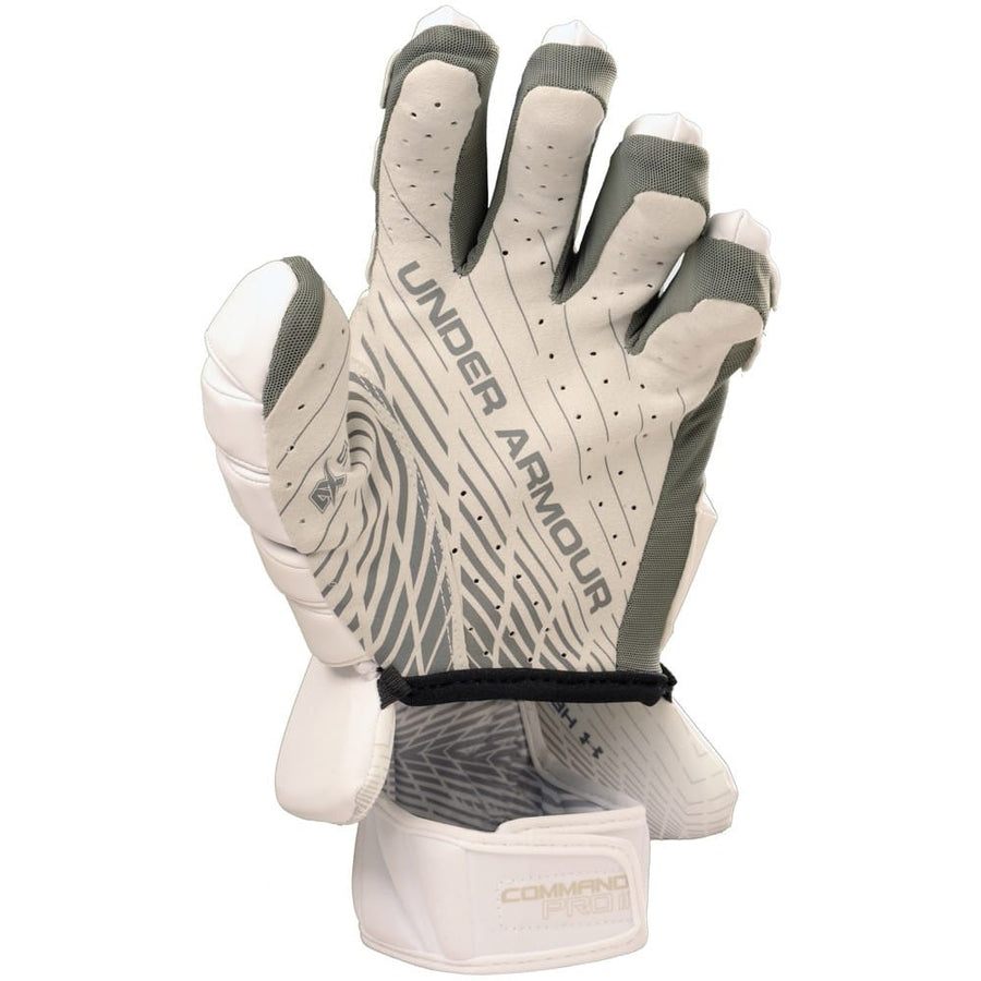 "Under Armour Command Pro II Glove 12"" Medium White"