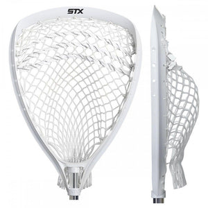 STX Shield 100 Goalie Head Strung White