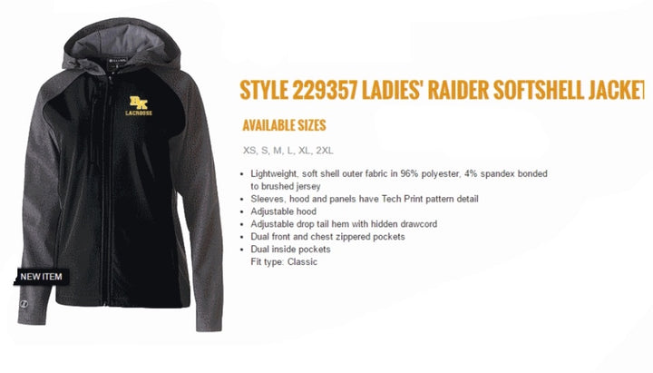 BK Girls Raider Jacket