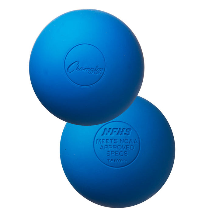 Champion Lacrosse Ball Blue 6 pack