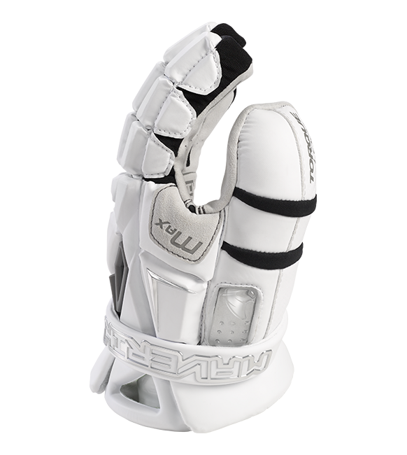Maverick Max Goalie Glove 2022 White