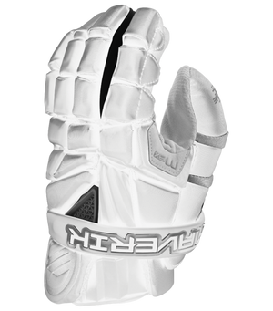 Maverik M4 Goalie Gloves White 12""