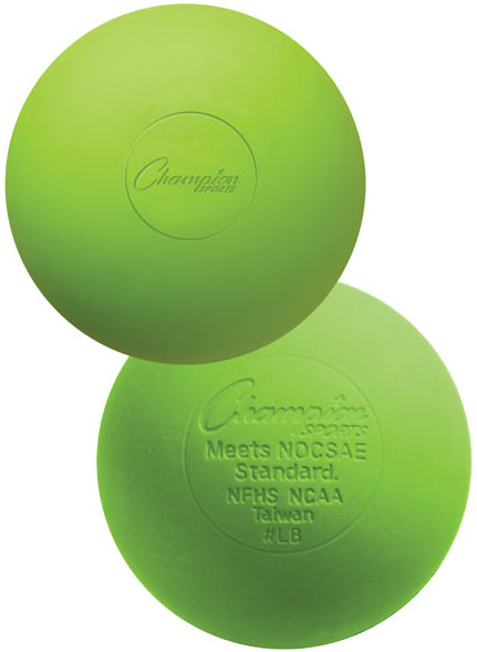 Champion Game Ball Green 6 pack