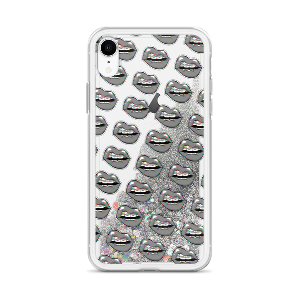 Lipsy Liquid Glitter iPhone Case
