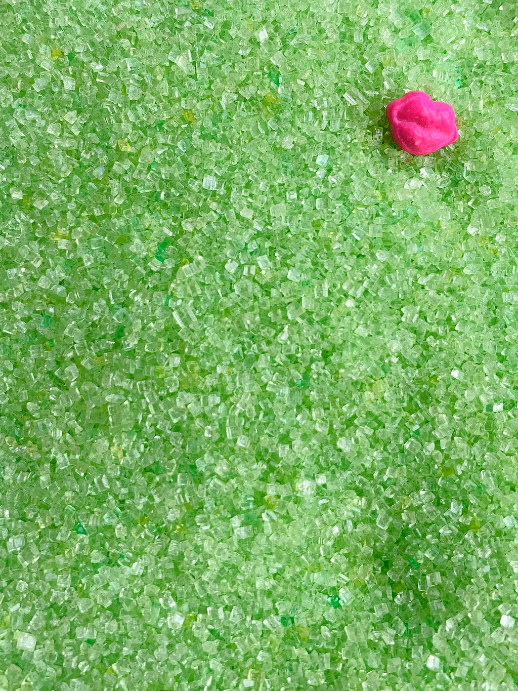 Lime Green Sugar Glitter