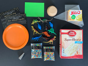 Dinosaur Baking and Cupcake Kit