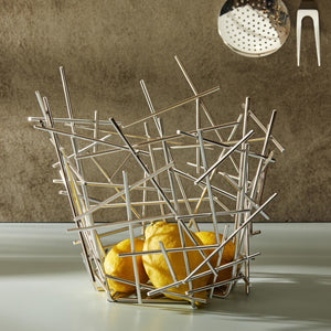 Alessi Blow Up Tall Citrus Baskrt