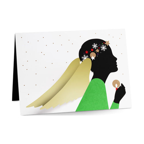 MoMA Holiday Pop-Up Card, Set of 8 - Radiant Angel