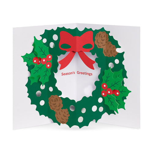 MoMA Holiday Cards Holyday Wreath Set of 8
