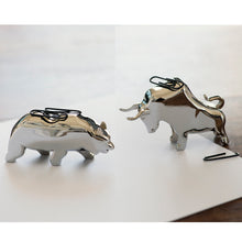 BULL & BEAR Paperclip Holders