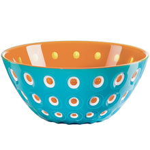 Guzzini Le Murrine Bowl Turquoise/Orange