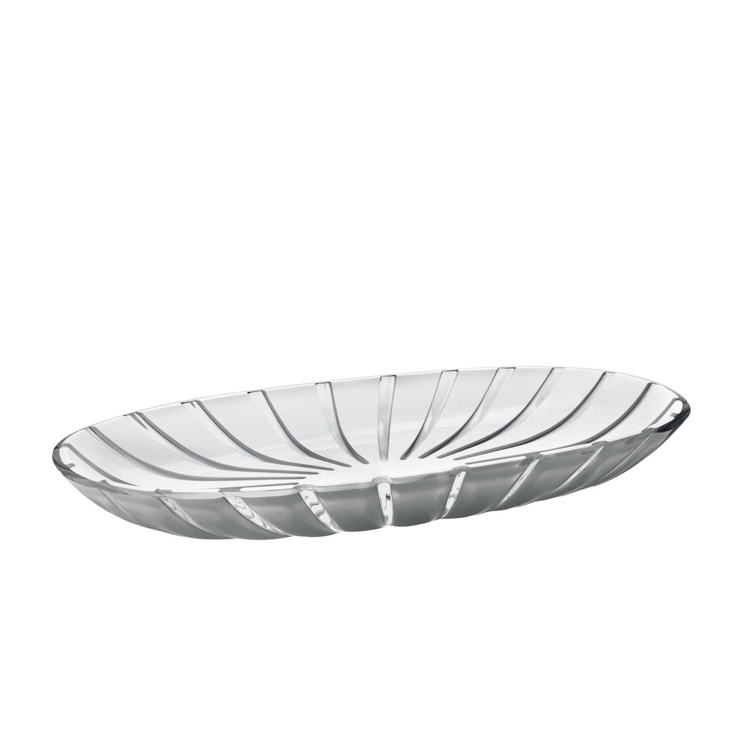 Guzzini Grace Oval Tray Grey