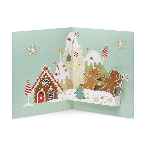 MoMA Holiday Cards Gingerbread Mountain Set of 8