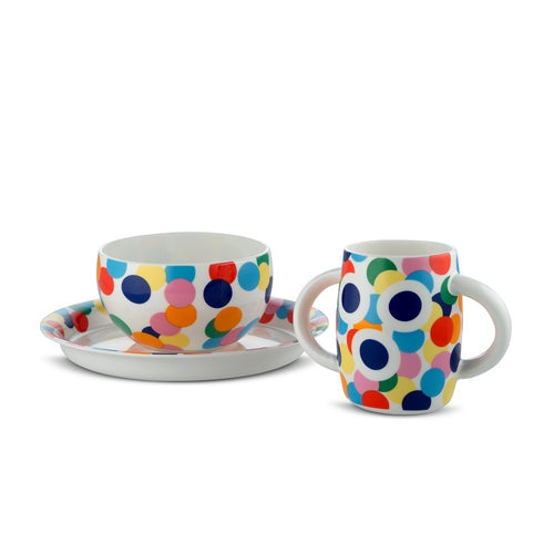 Alessi Alessini Tableware Set Proust for Kids