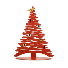 Alessi Bark for Christmas magnetic decorative tree in red epoxy resin, large version.