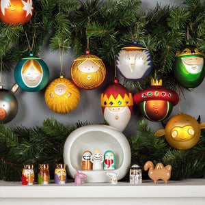 Alessi Christmas Bauble Ornament, Angioletto