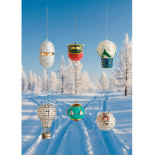 Alessi Faberjorì home ornament collection, porcelain, hand decorated.
