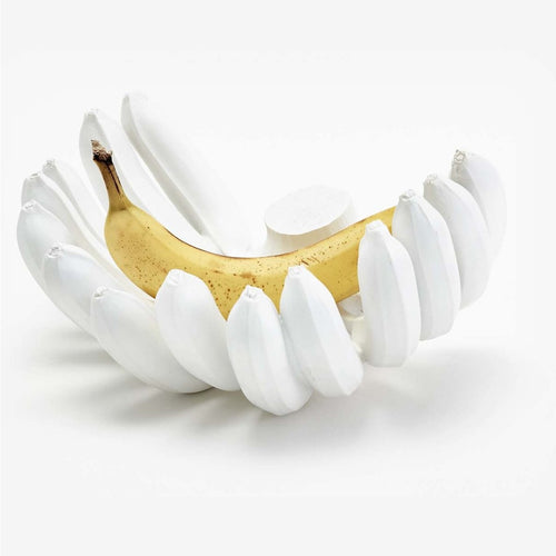 Areaware Banana Bowl White