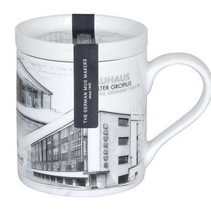 Bauhaus Architects Mug with Lid by Konitz