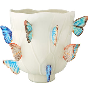 Cloudy Butterflies by Claudia Schiffer Vase