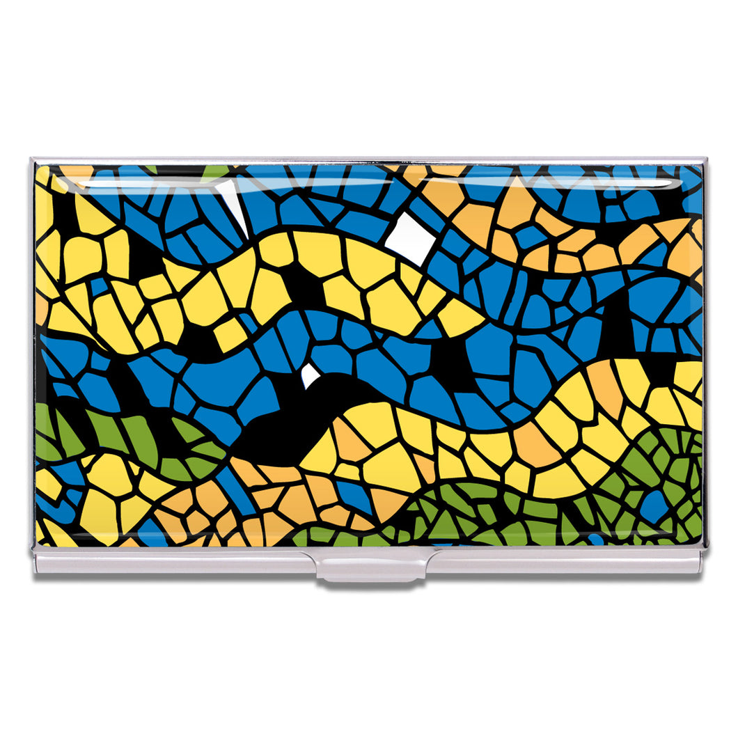 Business or Credit Card Holder Mosaic by Antoni Gaudi