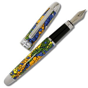 Fountain Pen Mosaic by Antoni Gaudi