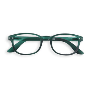 "IZIPIZI ""Green"" Color Reading Glasses, shape ""B"""
