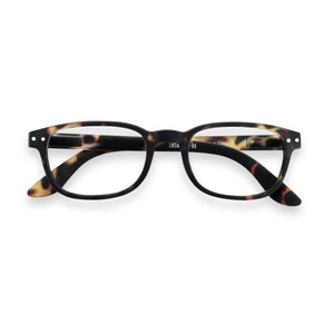 "IZIPIZI ""Tortoise"" Color Reading Glasses, shape ""B"""