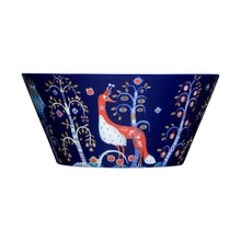 Iittala Blue Taika serving bowl, 3qt, porcelain.