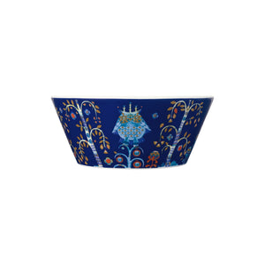 Iittala Blue Taika small bowl, 10oz, porcelain.