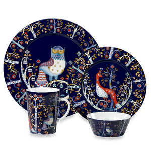 Iittala Taika Blue Collection, porcelain.