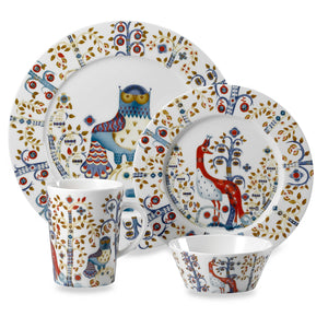Iittala Taika White Dinnerware Collection