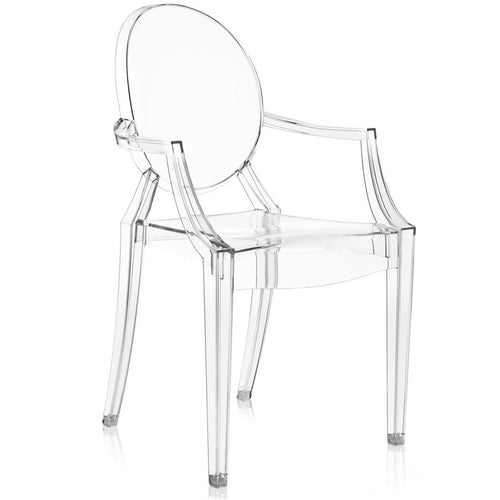 Kartell Louis Ghost Armchair Clear