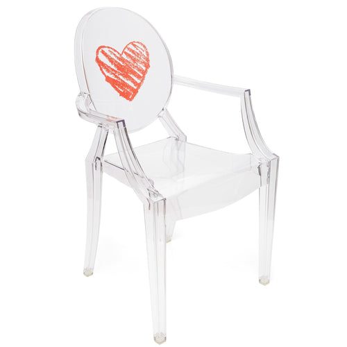 Kartell Lou Lou Ghost for Kids Heart