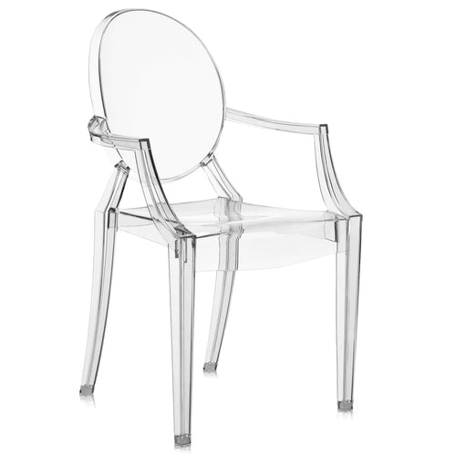 Kartell Lou Lou Ghost for Kids Clear