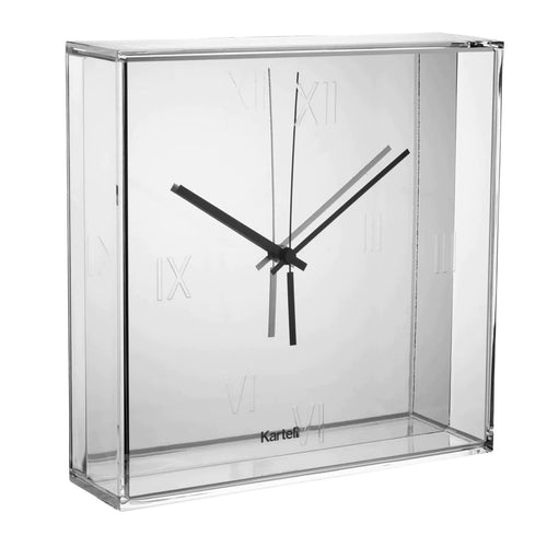 Kartell Tic & Tac Wall/Table Clock Chrome