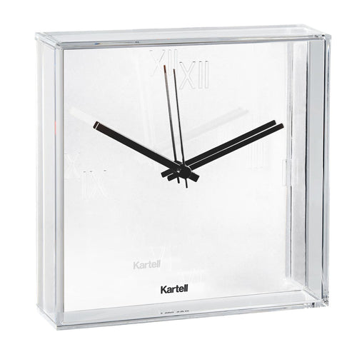 Kartell Tic & Tac Wall/Table Clock White