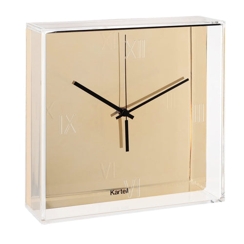 Kartell Tic & Tac Wall/Table Clock Gold
