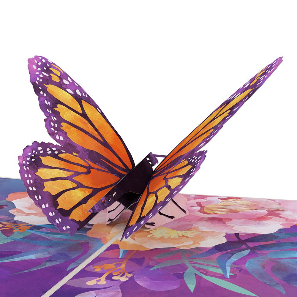 Lovepop Pop Up Greeting Card Monarch Butterfly